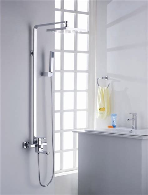 New Bathroom Shower New Contemporary Tub Shower Faucet With 8 Inch Shower