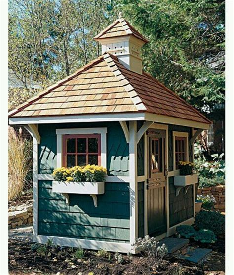 cute garden sheds cute shed cute getaways pinterest