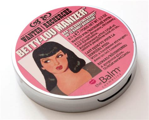 The Balm Lou Lou Betty Lou a talizingly talented threat thebalm s shimmery betty lou manizer has the golden