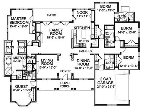5 outstanding features of european house plans rugdots com 17 best images about great floor plans on pinterest