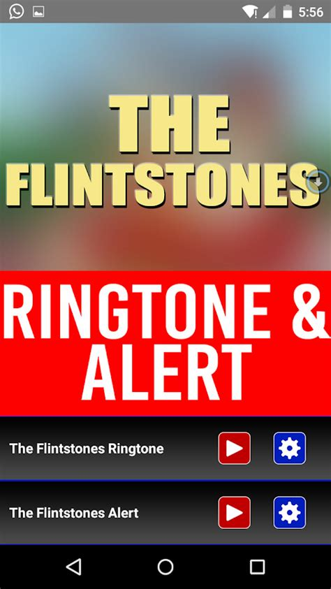 themes and ringtone the flintstones theme ringtone android apps on google play