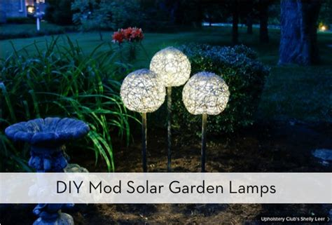 Diy Outdoor Solar L by How To Make Mod Solar Ls For The Garden 187 Curbly Diy