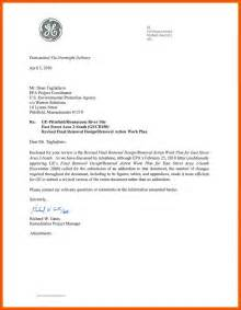 Letter Exles Sle Business Letter Attachment Program Format