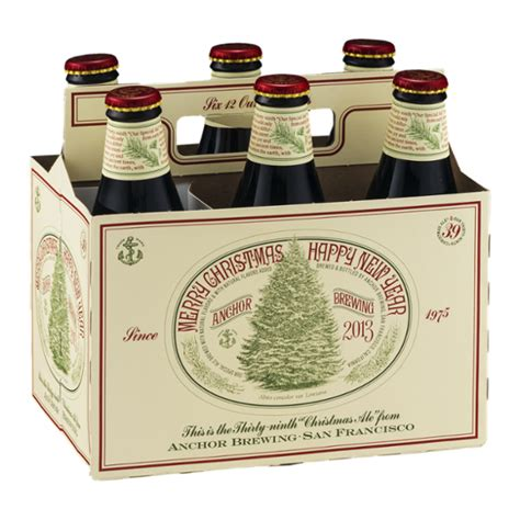 anchor brewing merry christmas happy  year ale  ct reviews