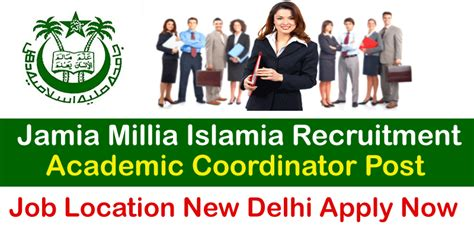 Jamia Mba Distance by Recruitment For Jamia Millia Islamia Distance