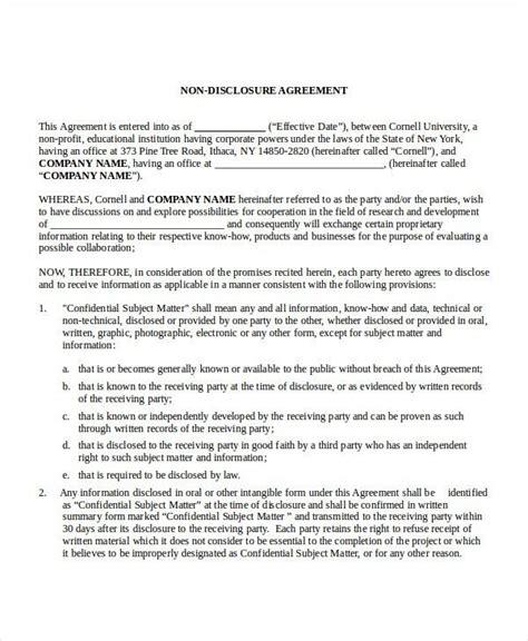 good faith agreement template good faith agreement good