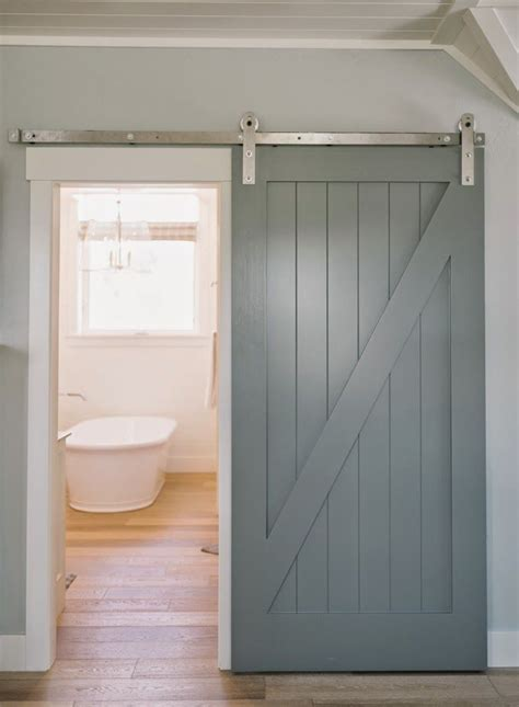 Interior Bathroom Doors by 25 Best Ideas About Sliding Barn Doors On