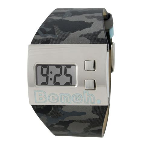 bench digital watch bench digital display camouflage strap watch clothing