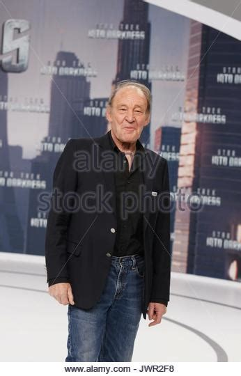 cinemaxx star square michael mendl german premiere of stock photos michael