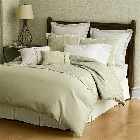 sage coverlet sage bedding white gold bedroom pinterest