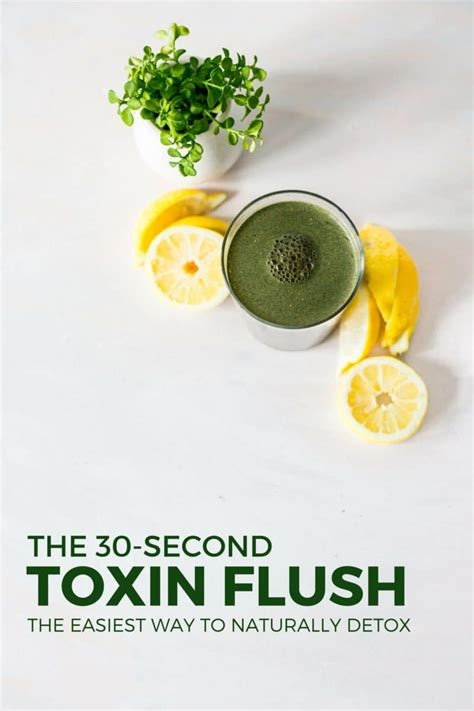 Aches During Detox by The 30 Second Toxin Flush The Easiest Way To Detox Yuri
