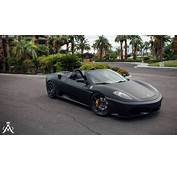 Aristo Forged Wheels Black Matt FERRARI F430 Spider