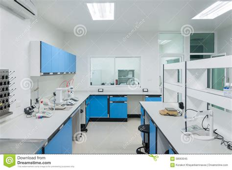 Floor Plan Of Classroom by Science Modern Lab Interior Architecture Stock Photo