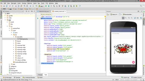 tutorial membuat android studio tutorial membuat project awal di android studio milatu
