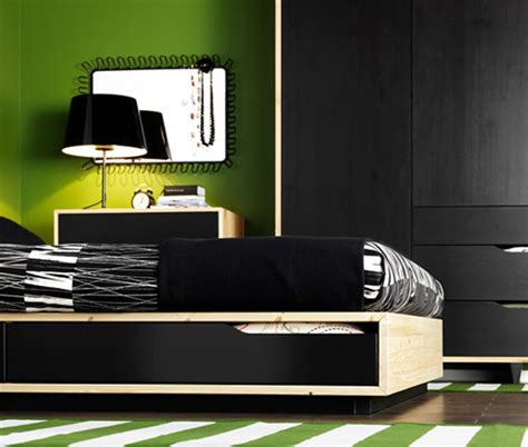 green and black bedroom black and green bedroom from ikea with green rug strip