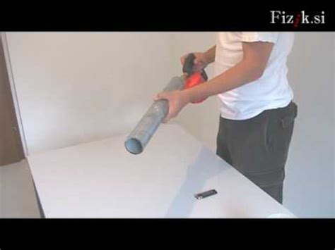 Scream Tub screaming physics experiment