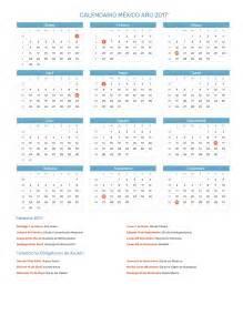 Calendario Mexico Calendario M 233 Xico A 241 O 2017 Feriados