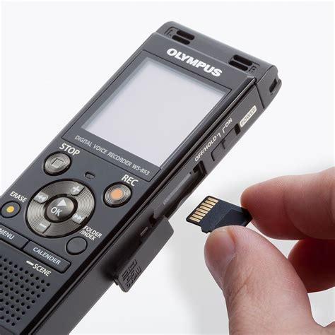 digital olympus olympus ws 853 black digital voice recorder