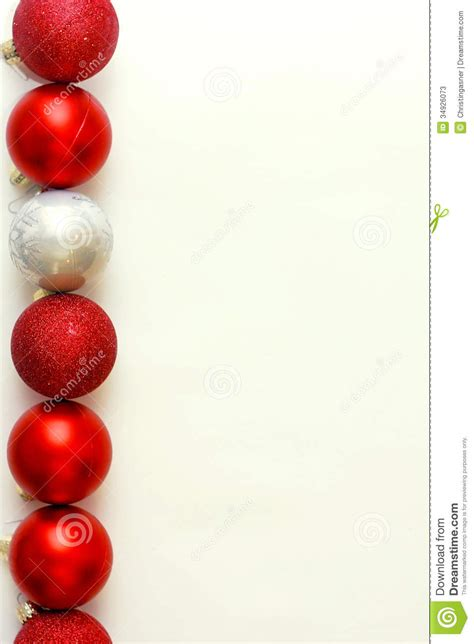 row of christmas bulbs background stock image image