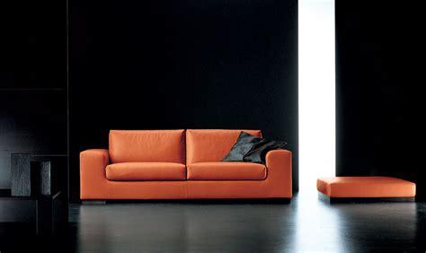 divano arancione divano arancione pelle design casa creativa e mobili