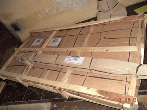 Packing Kayu Packing Pengaman Tambahan proses pengiriman furniture