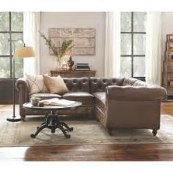 home decorators gordon sofa home decorators collection gordon 3 piece brown bonded