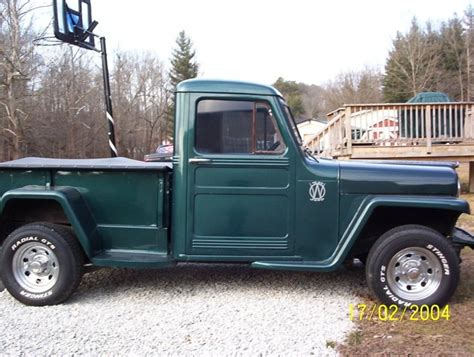 1950 Jeep Truck 1950 Willys Information And Photos Momentcar