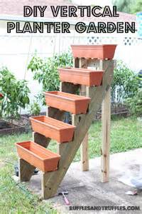 how to make a vertical planter garden