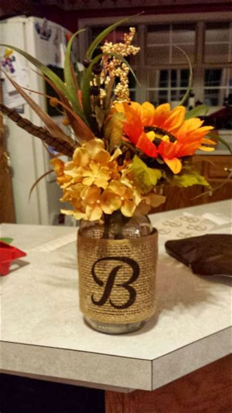 fall table decorations with jars 1000 ideas about jar arrangements on