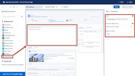 learn salesforce lightning the visual guide to the lightning ui books how to use a visualforce page as a component lightning