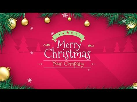 free template after effects merry christmas merry christmas text flythrough free after effects te