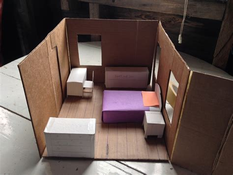 room model maker picture book illustration an architectural model in and out of my studio
