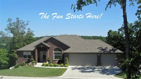spacious 4 bedroom home in stonebridge branson