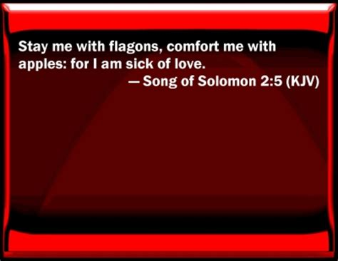 stay me with flagons comfort me with apples bible verse powerpoint slides for song of solomon 2 5