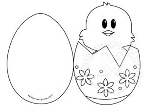 easter card templates to colour easter card template easter template