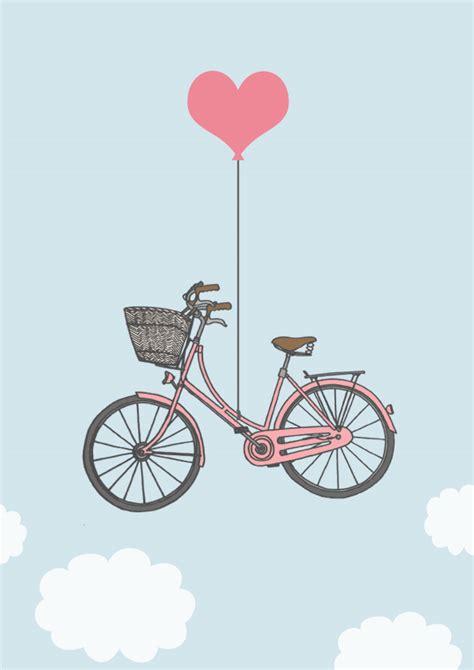 Bicycle Home Decor love amp bicycles girly digital print claud amp i