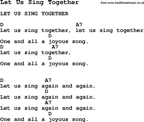 Let S Sing For By Nagayama Ei summer c song let us sing together with lyrics and chords for ukulele guitar banjo etc