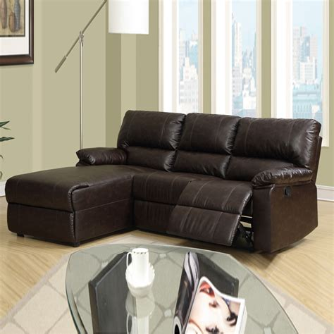 Small Black Leather Sectional Sofa Small Leather Sofa With Chaise Small Leather Sofa With Chaise Foter Thesofa