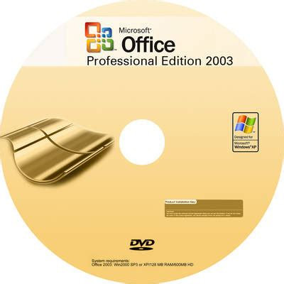 Cd Microsoft freecovers net microsoft office professional edition 2003 custom