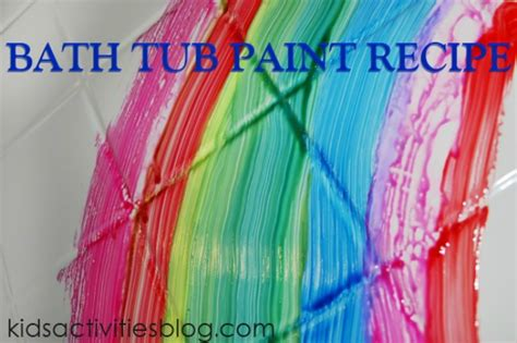 Bathtub Paint Recipe by More Than 10 Cornstarch Play Recipes For Thifty Sue