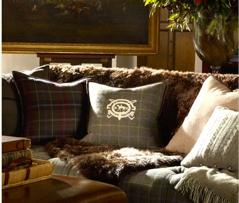 Landhausstil Kissen 916 by Tartan And Tweed Pillows Wnętrza Interiors 5