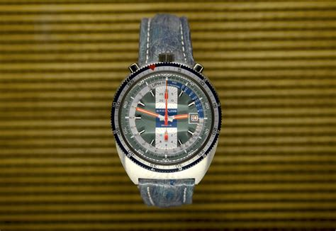breitling pult bullhead from 1974 extract luxury