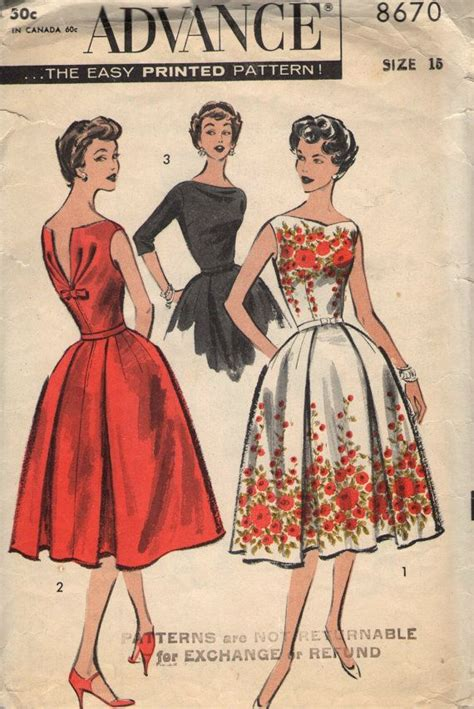 best 25 vintage sewing patterns ideas on