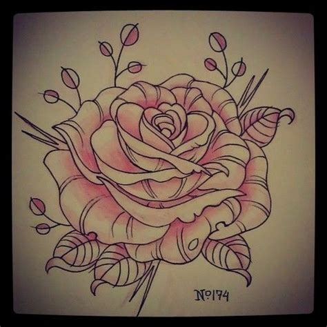 tattoo inspiration drawing lush rose flower tattoo design best tattoo designs