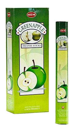 Hem Aple hem green apple incense