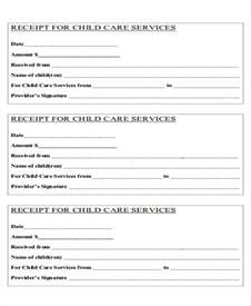 daycare receipt template printable receipt forms