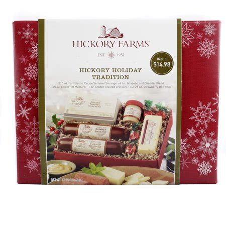 costco hickory farms gift pack hickory farms hickory tradition gift set walmart