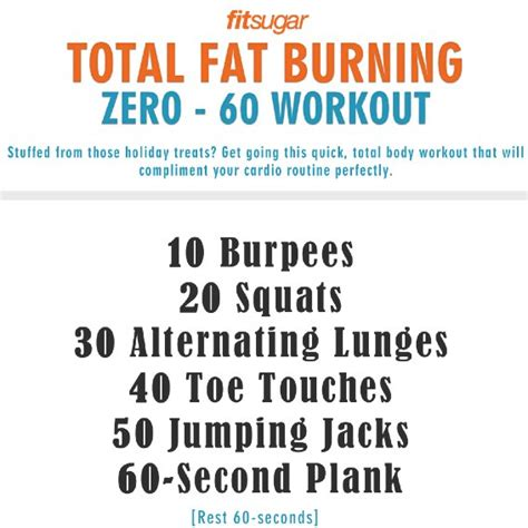 burning working popsugar fitness