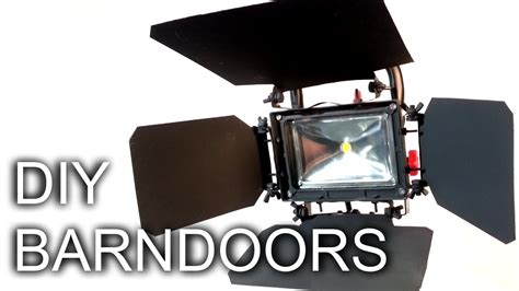 Stage Lighting Barn Doors Diy Barn Doors For Your Shop Light Forestrogue Instructionals