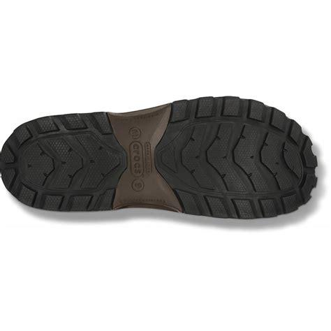 crocs wellie boot mens crocs crocs wellie espresso n24 mens boots crocs